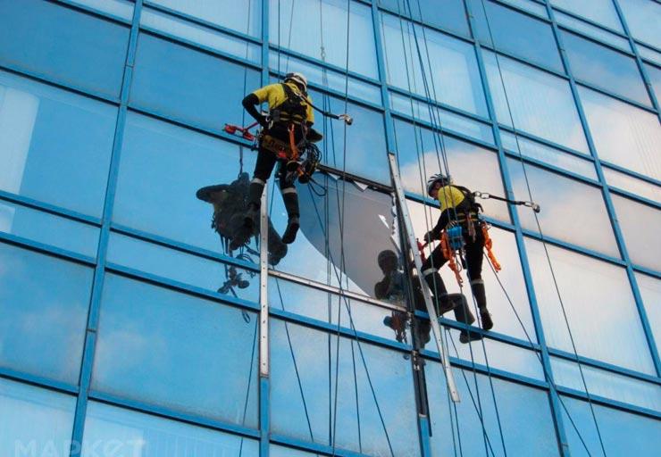 Услуги промышленных альпинистов во владивостоке